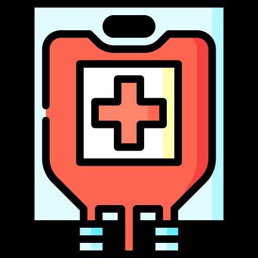 une poche de sang  Icône gratuit