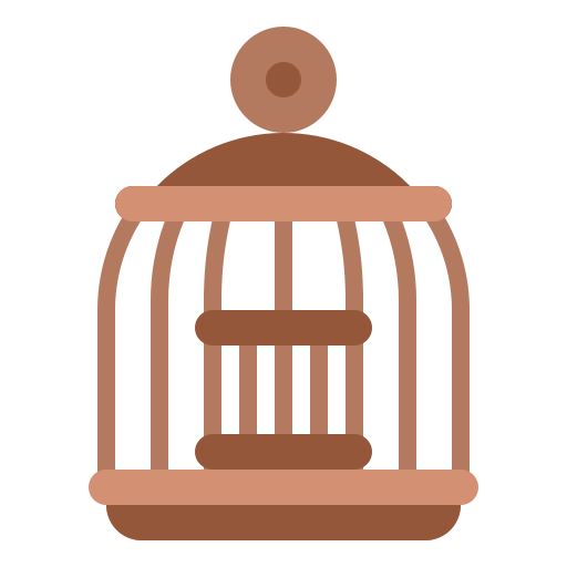 Bird cage  free icon