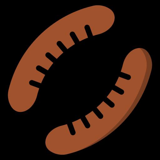 salsichas  grátis ícone