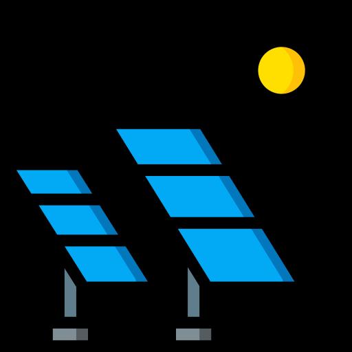 painel solar  grátis ícone