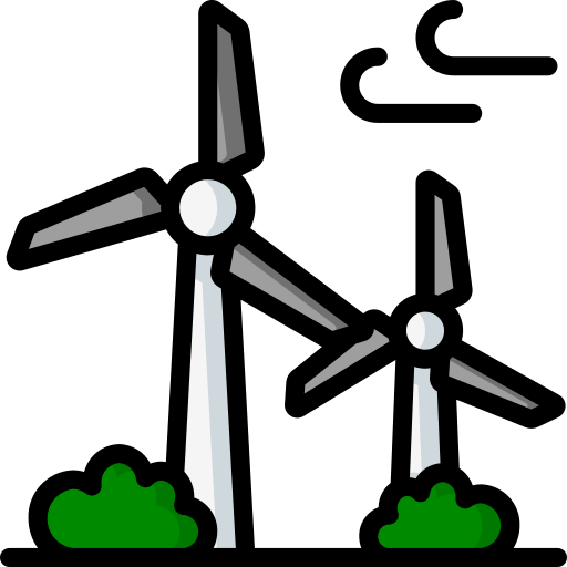 turbina de vento  grátis ícone