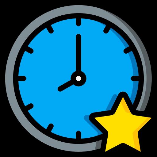 relógio  grátis ícone