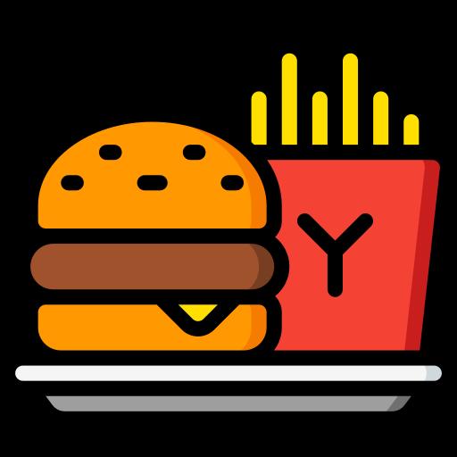 comida rápida  grátis ícone