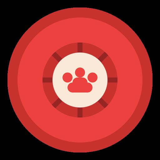 Frisbee  free icon