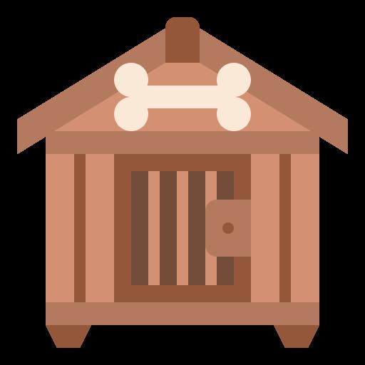 Dog house  free icon