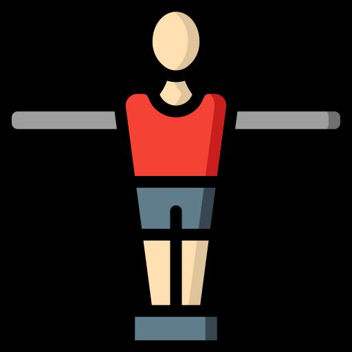 futebol de botão  grátis ícone