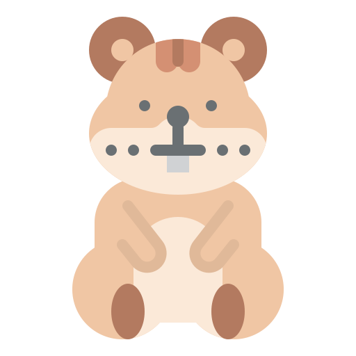Hamster  free icon