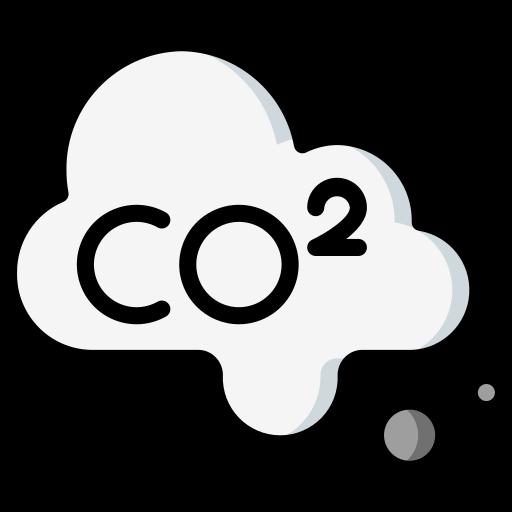 dióxido de carbono  grátis ícone