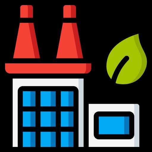 planta da fábrica  grátis ícone