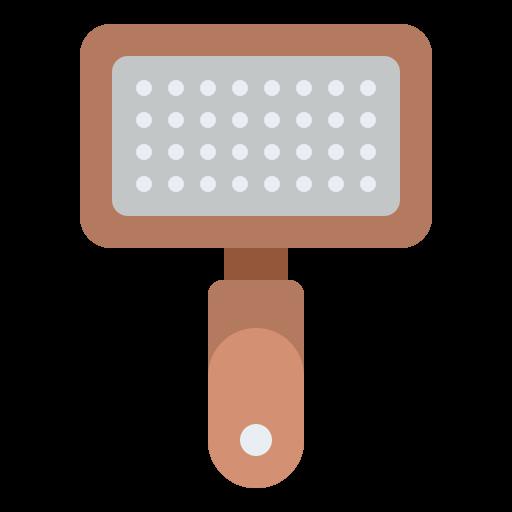 Pet brush  free icon