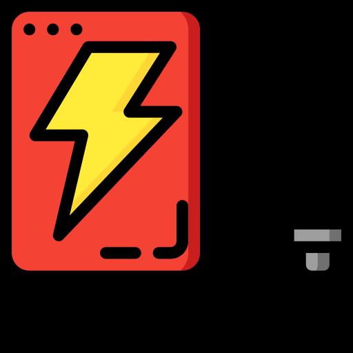energia elétrica  grátis ícone