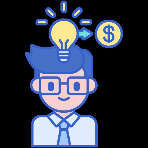 entrepreneuriat  Icône gratuit