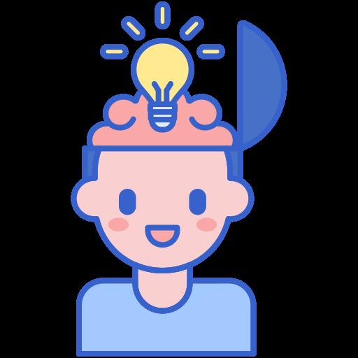 Open mind  free icon