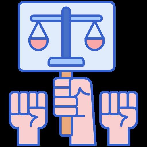 Social justice  free icon
