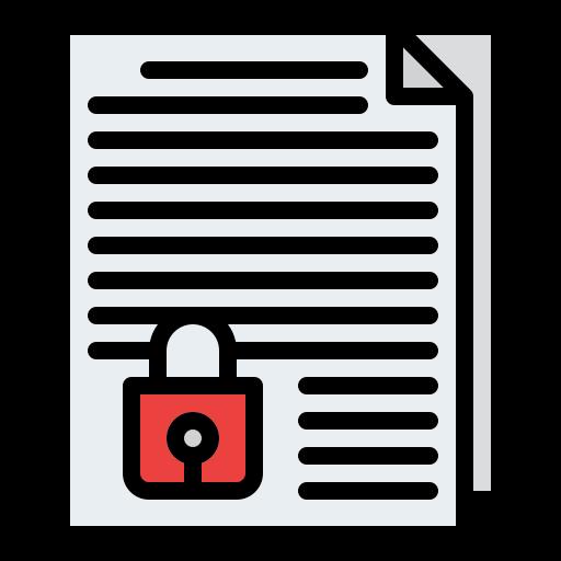 confidentialité  Icône gratuit