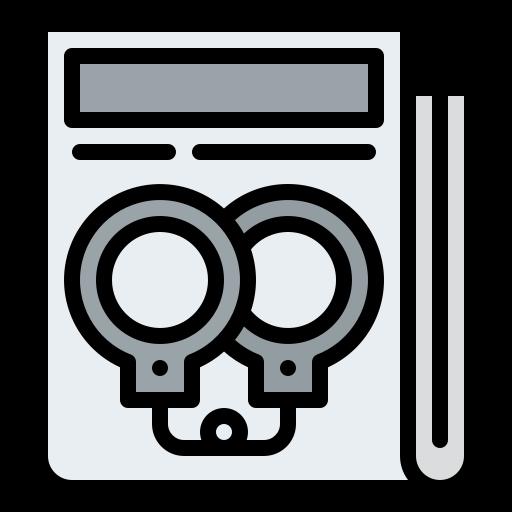 Crime news  free icon