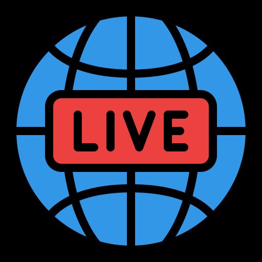 Live broadcast  free icon