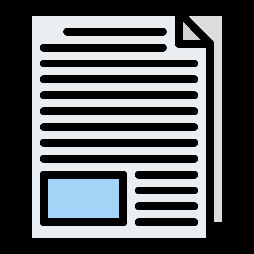 bulletin d'information  Icône gratuit