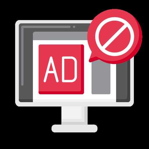 Ad block  free icon