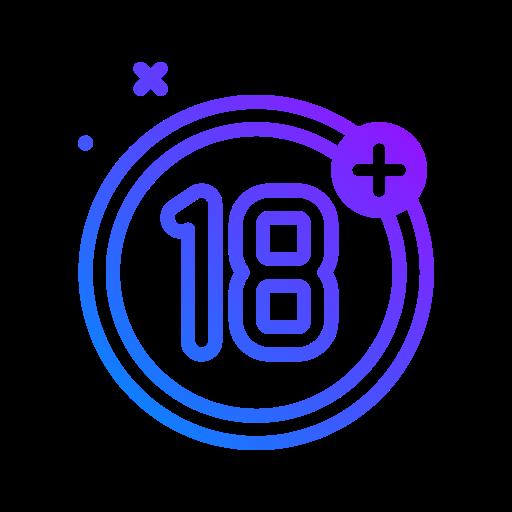 18 +  Icône gratuit