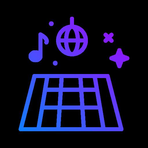 piste de dance  Icône gratuit