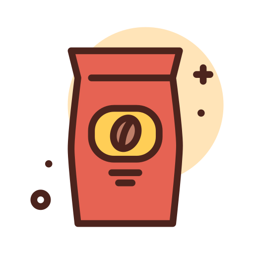 grains de café  Icône gratuit
