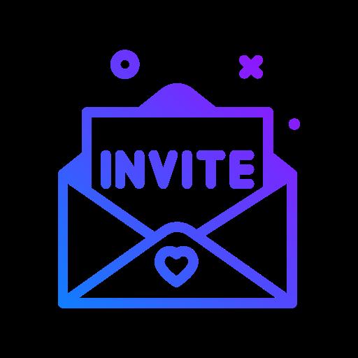 inviter  Icône gratuit
