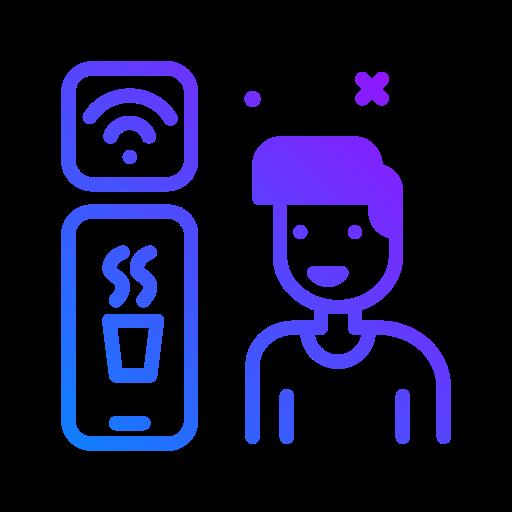 commande en ligne  Icône gratuit