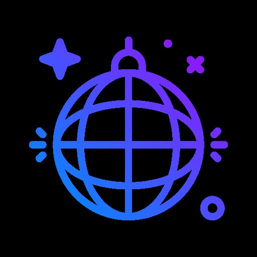 boule disco  Icône gratuit