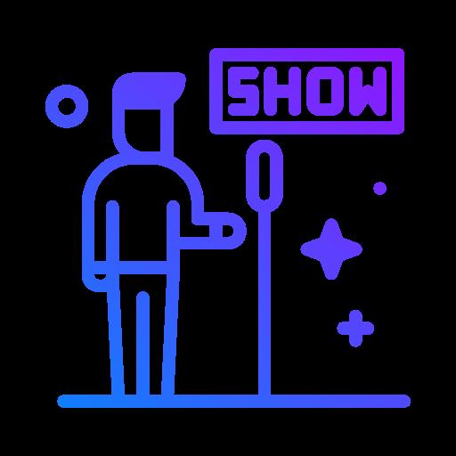 spectacle  Icône gratuit