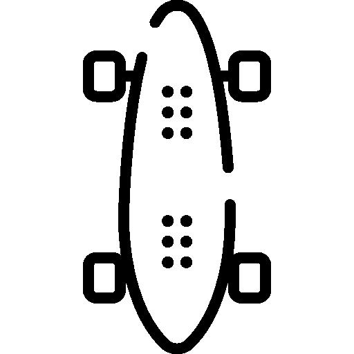 patineta  icono gratis