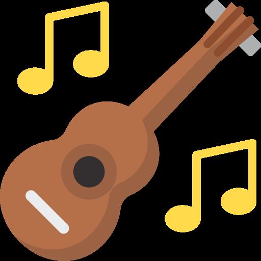 Гитара музыка  бесплатно иконка