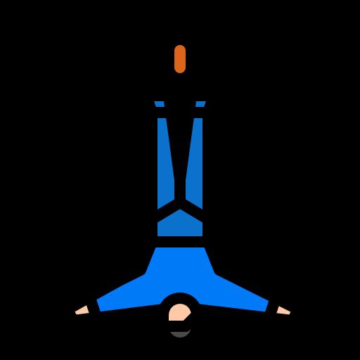 saut à l'élastique  Icône gratuit