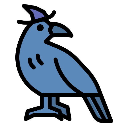 corbeau  Icône gratuit