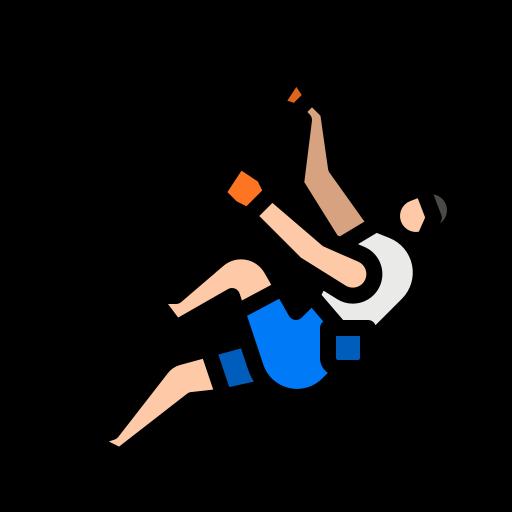 Climbing  free icon