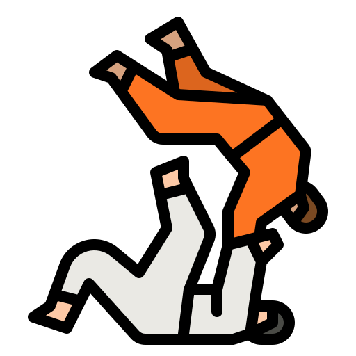 judo  Icône gratuit