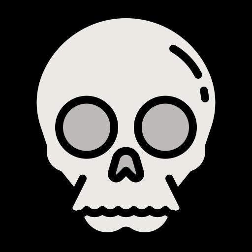 crâne  Icône gratuit