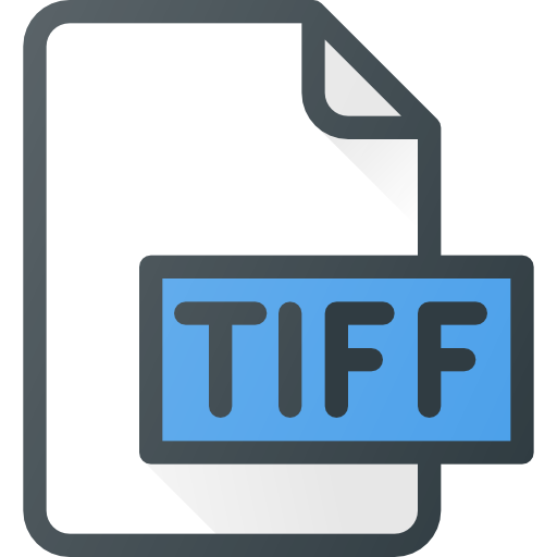 Tiff - Free files and folders icons