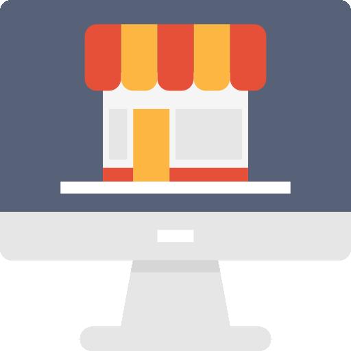 Онлайн шоппинг  бесплатно иконка