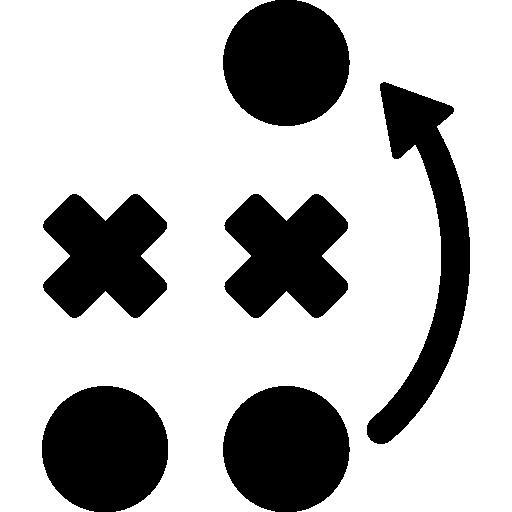planificación de juegos  icono gratis