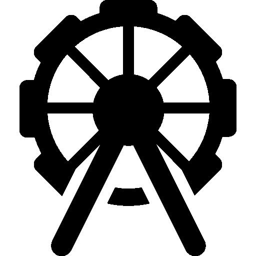 roue de parc divertissante  Icône gratuit