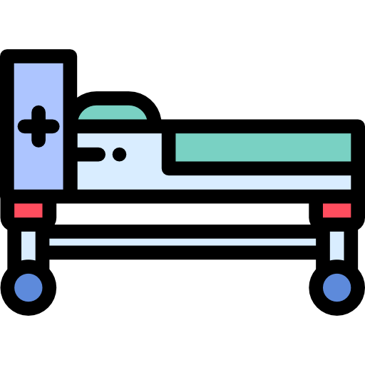 cama de hospital  grátis ícone