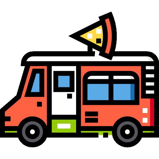피자 트럭  무료 아이콘