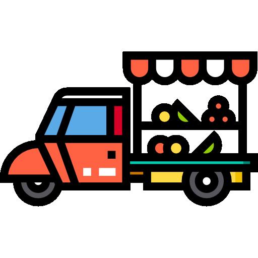 과일 트럭  무료 아이콘