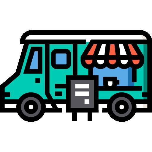 커피 트럭  무료 아이콘