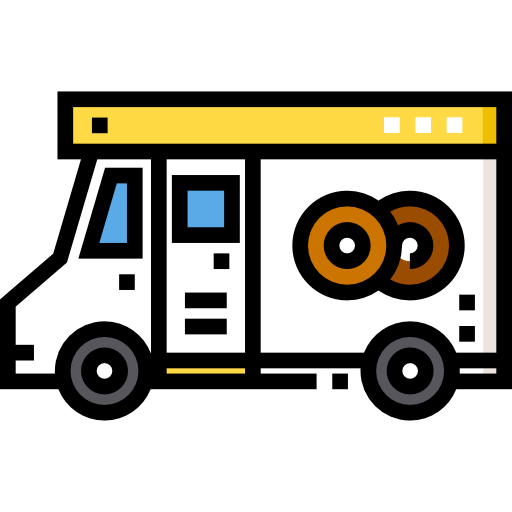 도넛 트럭  무료 아이콘