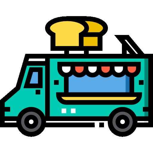 베이커리 트럭  무료 아이콘