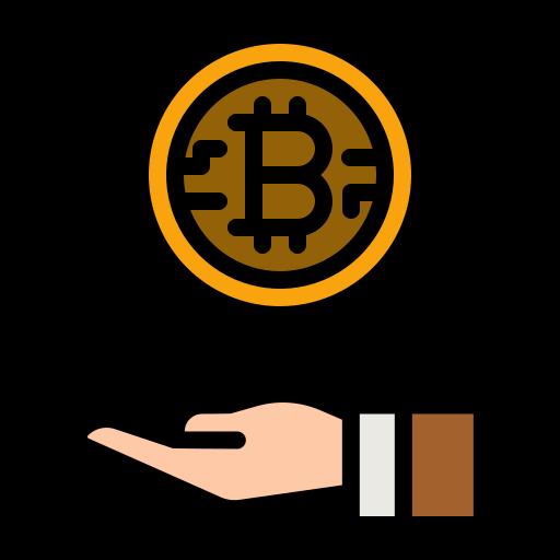 les crypto-monnaies grandissent  Icône gratuit