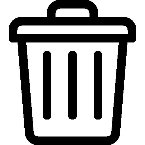 Garbage  free icon