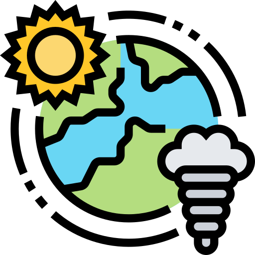 Climate change  free icon
